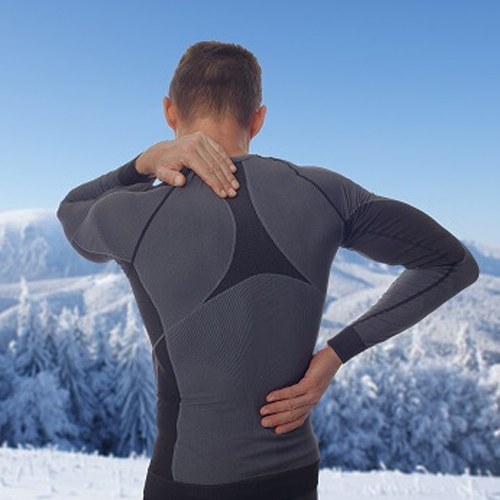 winter back pain